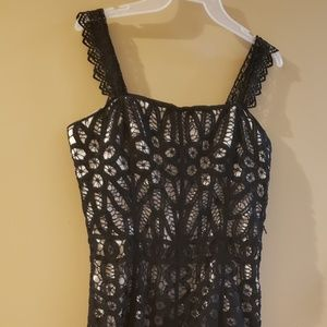 Betsey Johnson Dresses - Betsey Johnson Black lace dress